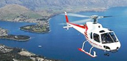 Helicopter flight to New Zealand
